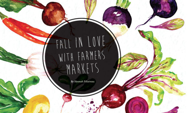 Fall in Love with Farmers Markets